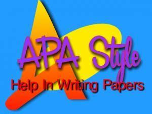 APA for Academic Writing 2017-2018